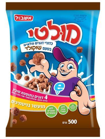 דגנים-שוקולד אשבול