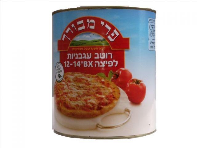 רוטב  לפיצה מעגבניות