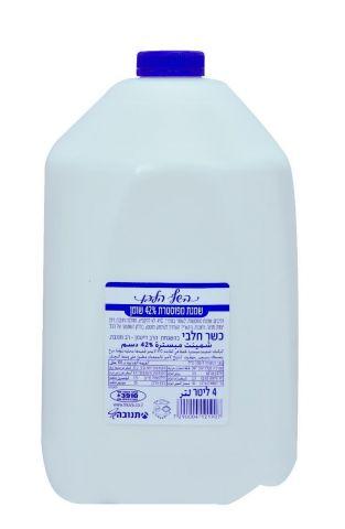 השף הלבן שמנת לקצפת מהדרין 42% שומן
