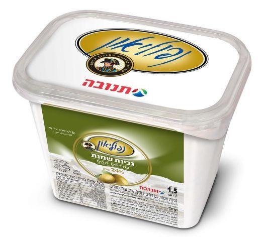 """נפוליאון גבינת שמנת זיתים 30% שומן 1.5 ק""""ג"""