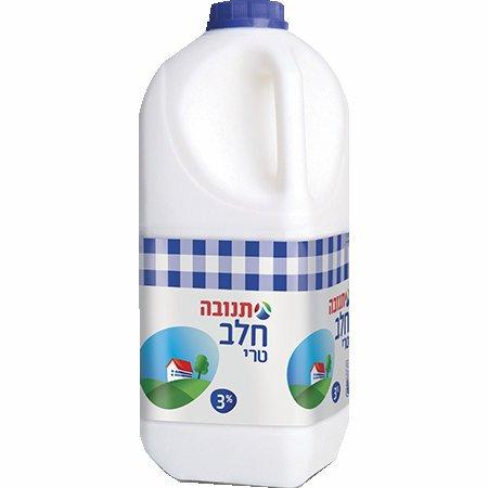 חלב תנובה טרי כד 2 ליטר 3%