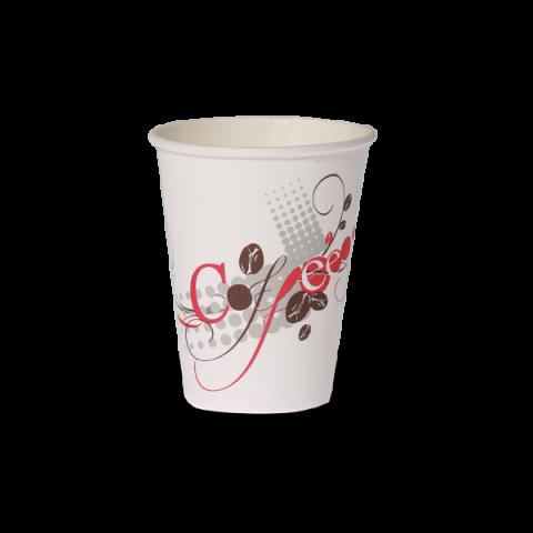 כוס נייר OZ 8B לשתיה חמה המחיר ל20 שרוול * 50 יח'