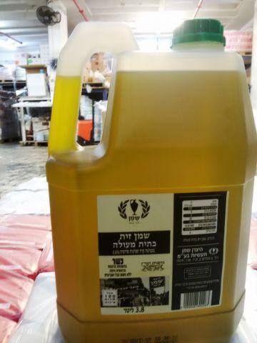 שמן זית כתית מעולה 3.8 ליטר  ליטר עץ הזית