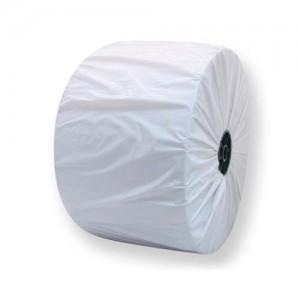 """נייר מגבת תעשייתי  נגב טישו חד שכבתי 1200מטר על 22 ס""""מ"""
