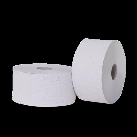 """נייר טואלט ג'מבו קרפ  מידרול 250 מטר בגליל מק""""ט 3570"""