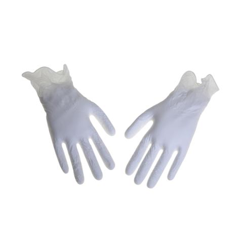 כפפות ויניל ללא אבקה XL