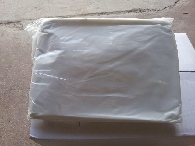 אשפתון מקצועי 90*80  25 יחידות בכרית HD מרשרש צבע לבן חלבי