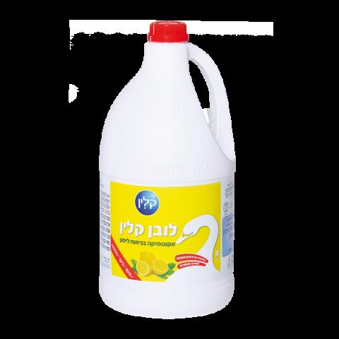 לובן קלין אקונומיקה בניחוח לימון 4 ל