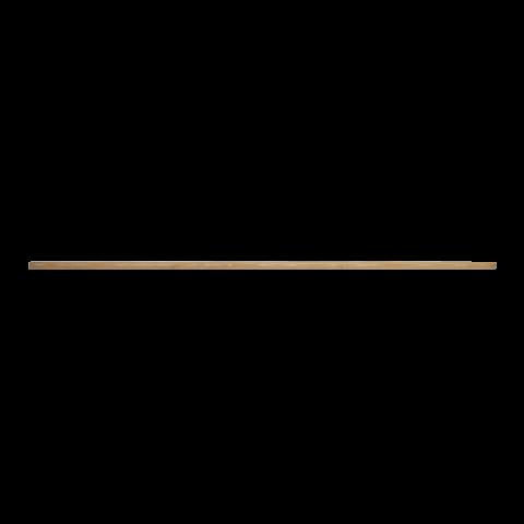 מקל עץ 1.5 מטר ללא הברגה