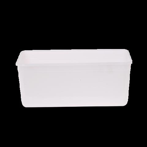 קופסא PP מלבנית 4.5 ליטר חי 50 יח'
