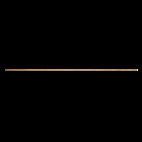 מקל עץ 1.5 מטר עם הברגה