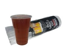 """כוס   שקופה לשתייה קרה 330 סמ""""ק [בירה]"""