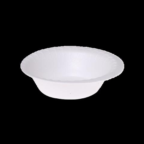 צלחת מרק קלקר חוץ לבן 1/1000