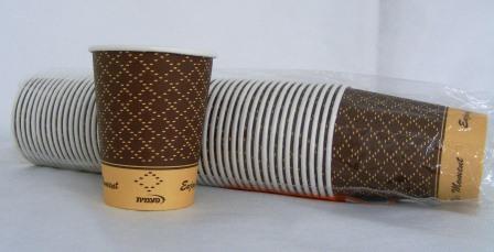 כוס נייר 8B א- 50 בשרוול 1/1000 בקרטון