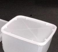 מכסה למיכל 3 ליטר מרובע 1/300 בקרטון