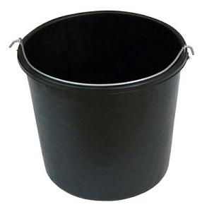 דלי פלסטיק 10 ליטר שחור