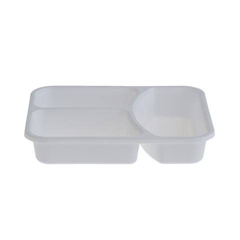 מגשית פלסטיק מחולקת ל-3-דגם חדש