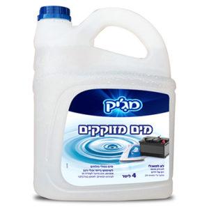 מים מזוקקים מקסול 4 ליטר