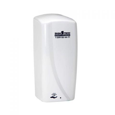 מתקן סבון מקציף אלכוהול סנסור לבן
