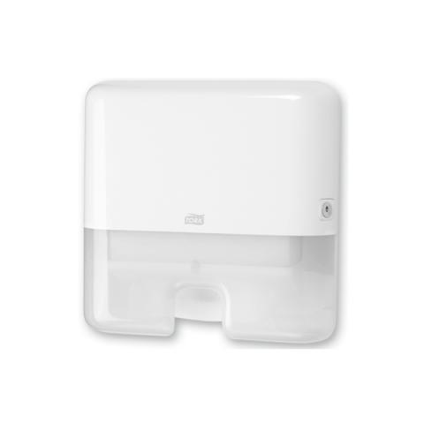 מתקן mini interfold למגבות מקופלות לבן
