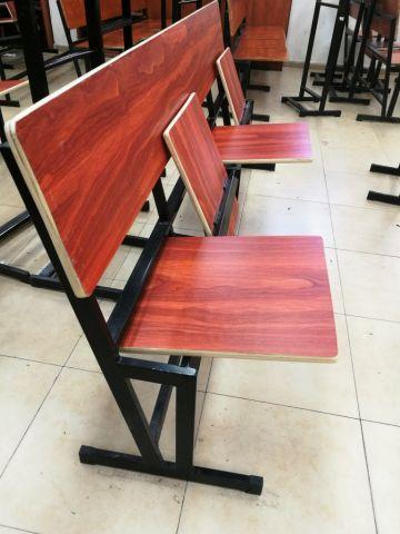 ספסל 5 מקומות מושב מתקפל 0.40*2.55 מטר