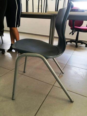 כיסא  דגם מוקי רגליים מתכת