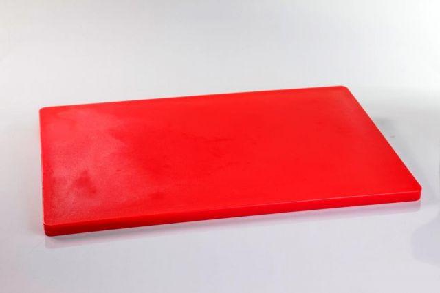 לוח מזון מקצועי  אדום 60*40  1/5