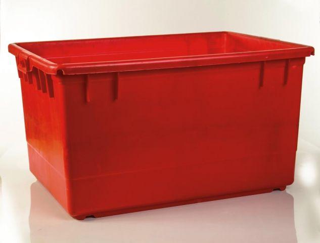 מיכל 130 ליטר בשרי אדום