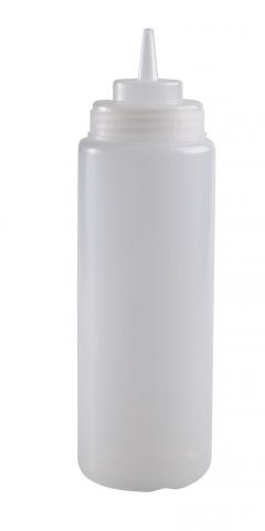בקבוק קטשופ שקוף 0.75 ליטר 12/36