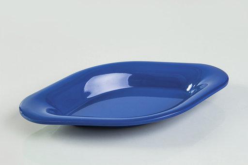 """כלי לסלטים מלמין 17 ס""""מ- כחול"""