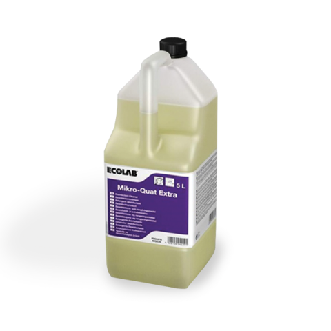 mikro quat extra נוזל לניקוי וחיטוי 5 ליטר