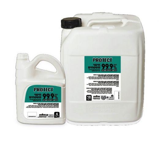 פרוטקט לחיטוי משטחים 99.9% 4 ליטר