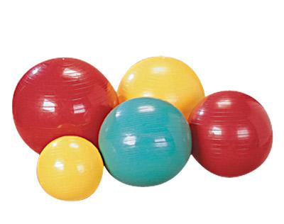 """כדור פיזיותרפיה קוטר 55 ס""""מ או קוטר 75 ס""""מ"""