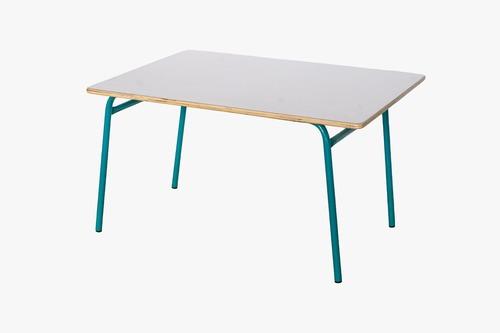 שולחן גן רגל מתכת 60*90