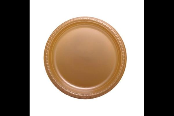 צלחות גדולות קשת זהב - -אר 100
