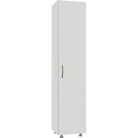 """ארון בגדים שירות דלת אחת דגם END10 רוחב 30 ס""""מ גובה 168 ס""""מ עומק 32 ס""""מ"""