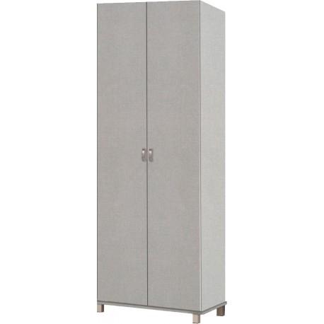 """ארון בגדים פתיחה 2 דלתות דגם בנצי רוחב 80 ס""""מ גובה 234 ס""""מ עומק 55 ס""""מ"""
