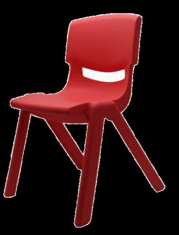 """כסא פלסטיק יצוק 28 ס""""מ לגן"""