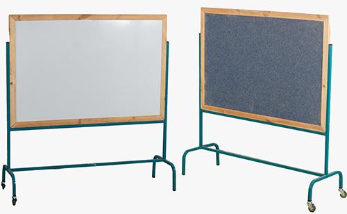 לוח נייד דו צדדי מגנט + שטיח 80/60