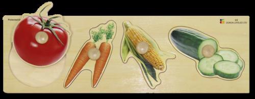 פאזל ירקות ענק