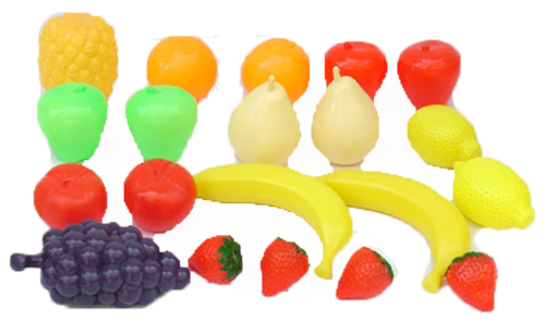 סט פירות ברשת