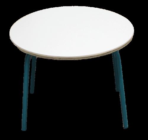 שולחן עגול קוטר 60