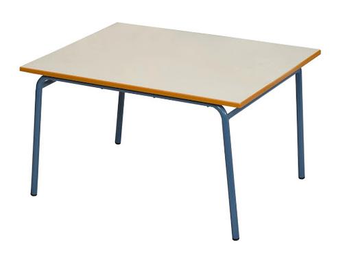 שולחן גן רגל מתכת 70X90