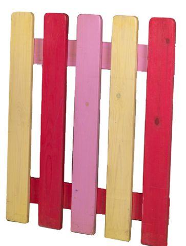 גדר עץ לפי מידה וצבע כולל התקנה